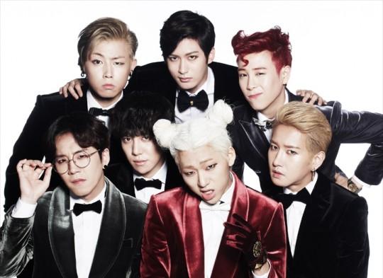 # Block B  眼睛-Zico / 鼻子-U-Kwon / 嘴巴-P.O