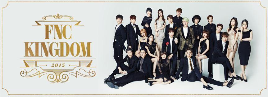 FNC Entertainment,韓國第四大娛樂公司,僅次於SM Entertainment、YG Entertainment、JYP Entertainment