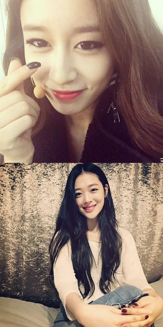 除了劉寅娜和Suzy,芝妍和雪莉也都是IU的至親好姊妹