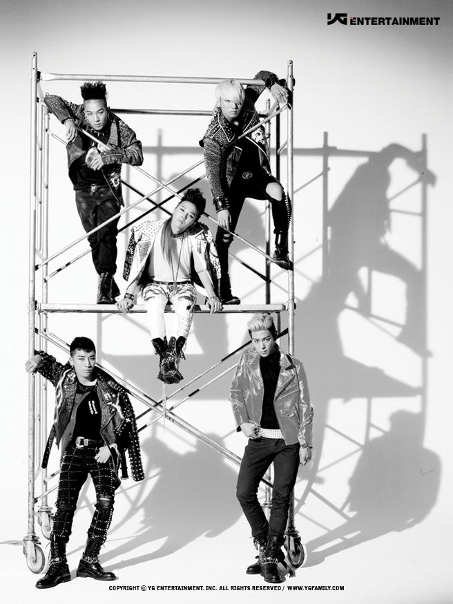 2.BIGBANG 出道日期:2006年8月19日