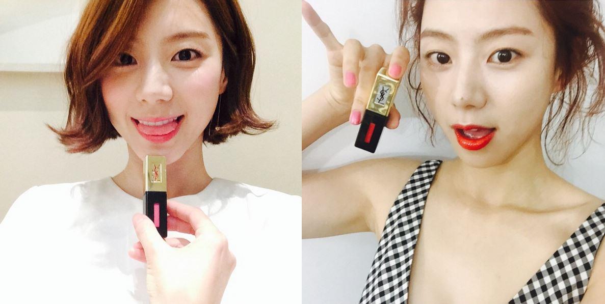 色彩鮮豔、清新亮澤,能在水潤雙唇的同時,完美的持久不掉色! #105的珊瑚色是全智賢在《來自星星的你》劇中所使用過的顏色 #15的桃紅色和#202的紅色則是演員朴秀真的愛用款 這三個顏色都在韓國很熱賣