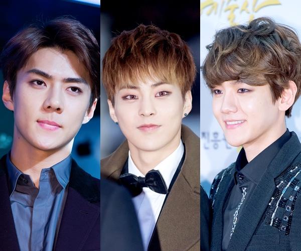 被粉絲開玩笑說是「髮色調色盤」的EXO,每一期出席活動就會有改變髮色的成員。不僅粉絲、連媒體都期待的每次造型!