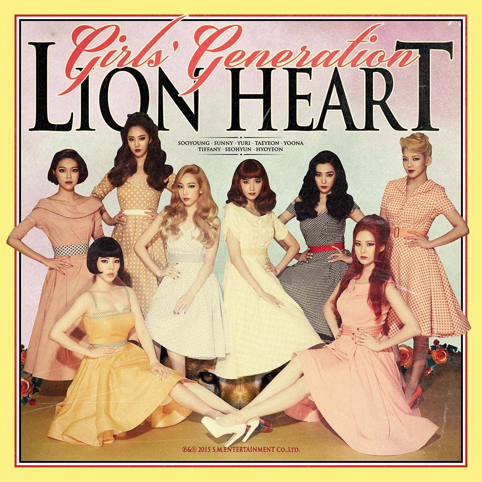 之後八月發行的正規五輯另一首主打《Lion heart》更一口氣拿下了13座音樂節目的冠軍獎盃 20冠王的紀錄大概也只有少女時代自己才能再度打破!(甚至不加太妍個人solo)