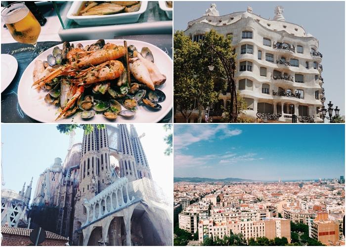 #3 巴塞隆納 就算花一個禮拜也玩不完的巴塞隆納,除了高第的建築,還能到近郊參觀達利美術館!天氣總是非常舒適的巴塞隆納,美食特別多,身為一個海港,有一望無際的海,還有非常熱情的西班牙人,是個充滿活力的城市。