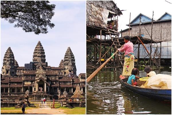#8 柬埔寨 為中南半島之文明古國,世界遺產吳哥窟則在柬埔寨的北部,雖然這是一座不算現代的城市,卻是很適合熱愛文化的朋友們結伴冒險的地方。
