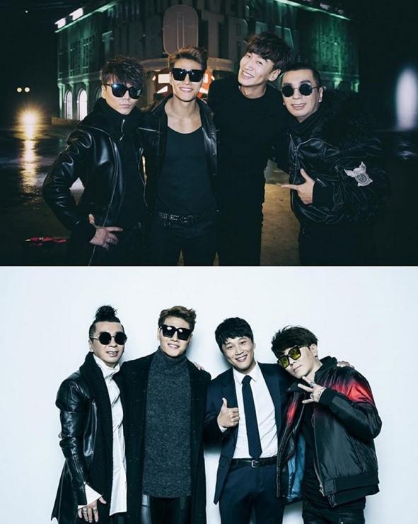 而且還有找來李光洙和車太鉉出演MV!!不覺得這陣仗真的很猛嗎XD