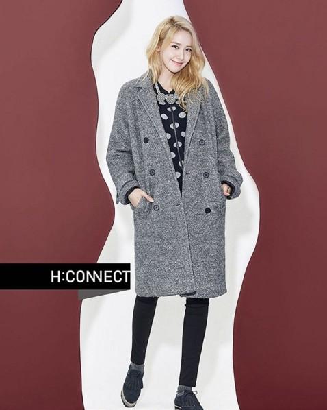 H:CONNECT的大衣原價約四千多,打折後網站賣2990元~