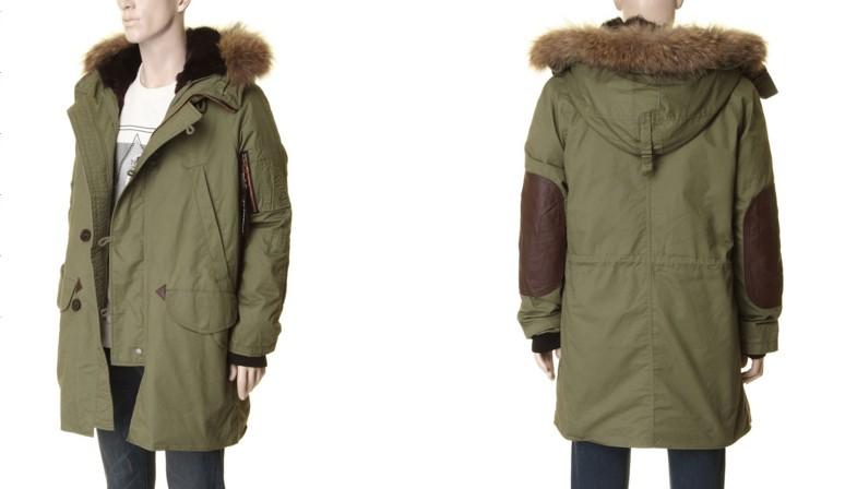 這是Kai-aakmann的外套,約台幣一萬元。同款外套還有另外一種顏色,不過露可覺得潤娥選擇的軍綠色的確比較好看~