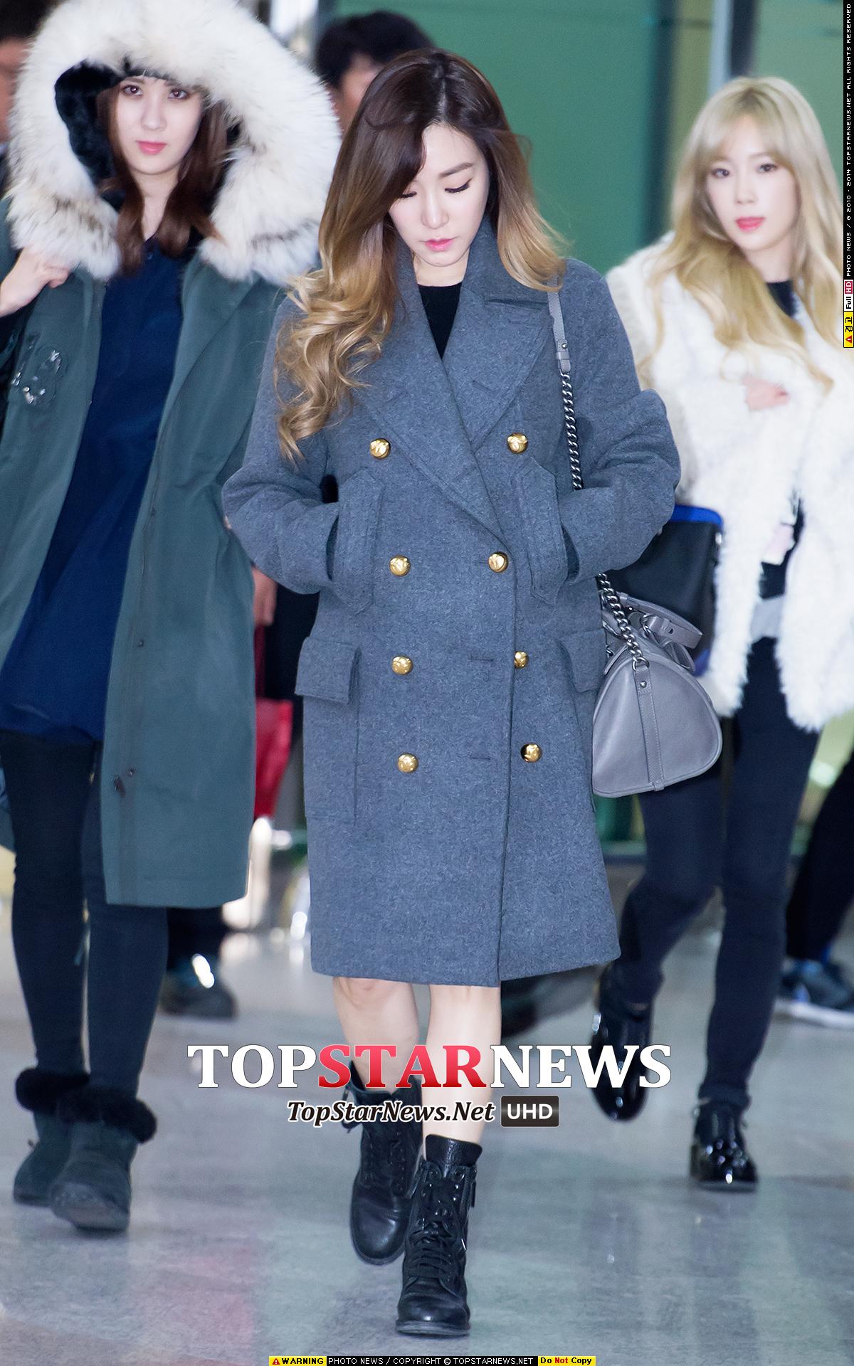 最近一次Tiffany所穿的雙排扣大衣是來自LUCKY CHOUETTE,這品牌是韓星們都很喜歡的品牌!