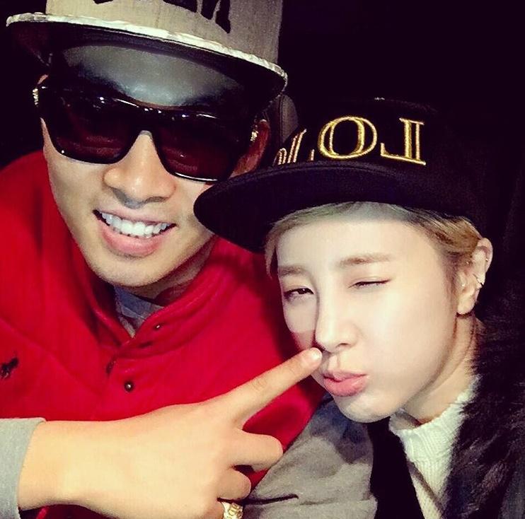 徐仁英前陣子在instagram上傳了兩人的合照,引起了韓國網友們的回憶,並再次成為網友們的話題。