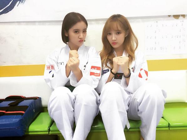 Wonder Girls 惠琳與Miss A的Jia是運動的好搭檔,常常一起結伴到健身房,完成許多不可能的汗水任務!