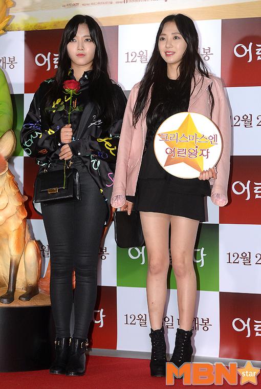 AOA的澯美跟珉娥