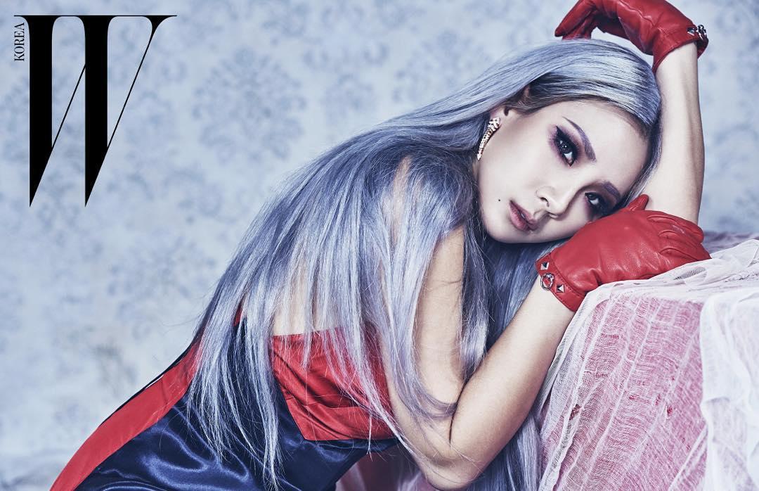 兩個CL的大公開,就源於最近CL幫《W KOREA》雜誌拍攝了一組照片