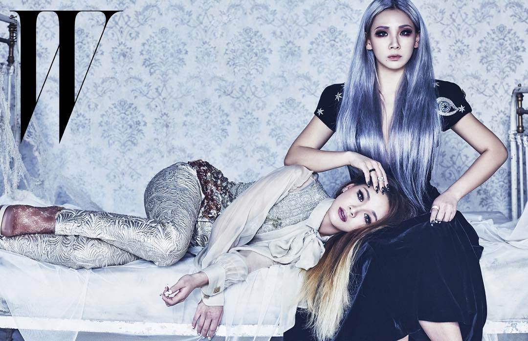她其實就是CL的親生妹妹,你看倒在姊姊懷裡的她,根本就像是雙胞胎!