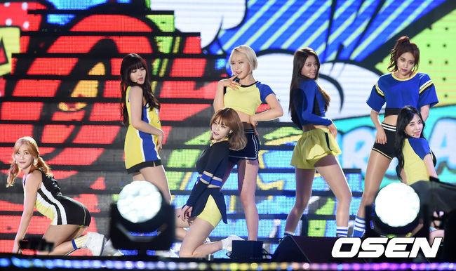 一提起就會讓人心臟撲通撲通直跳的女團 AOA....♥ 雖然每個人的身材都是TOP...但是其中一位.....!