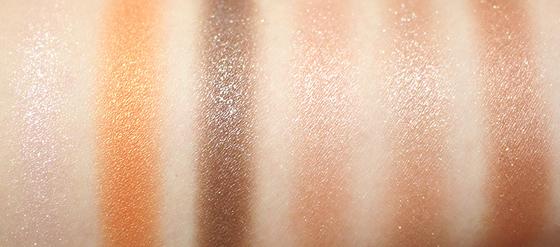 粉質細膩,飛粉現象少,就算是大亮片也是服服貼貼的喔,而且防水不暈染。