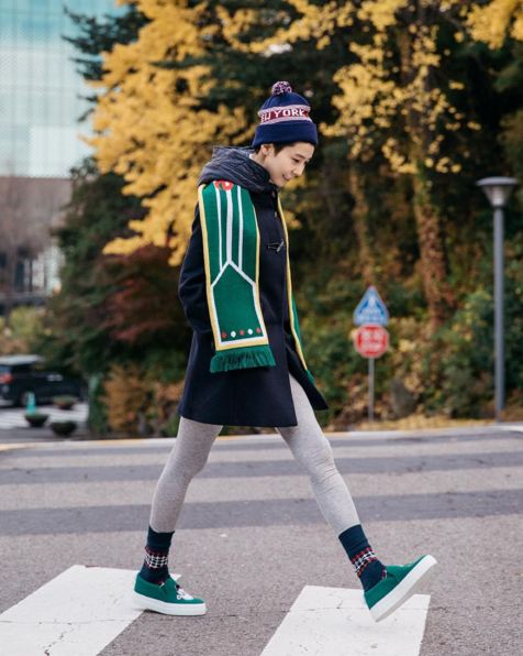 海外冬季時尚大放送...可愛的淘氣包樣?~