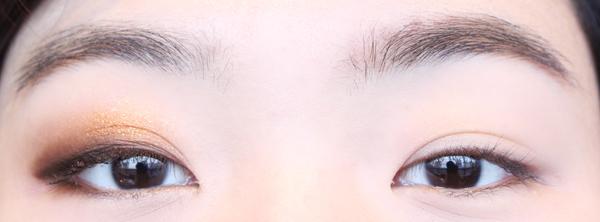 對比一下,是不是眼睛看起來更有神了,而且完全不會有負擔感