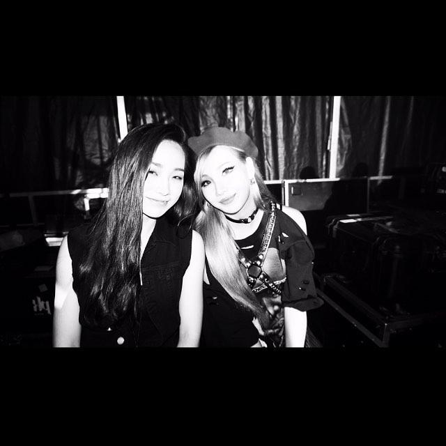 CL其實有一個小4歲的妹妹,CL叫彩麟,妹妹叫做하린(Ha Lin),因為不知道她的中文名字,所以大部分粉絲以HL來暱稱她~