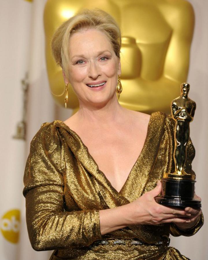 2012年憑藉電影《鐵娘子》二度封后,她當時發表的獲獎感言對於大多人來說依舊膾炙人口!