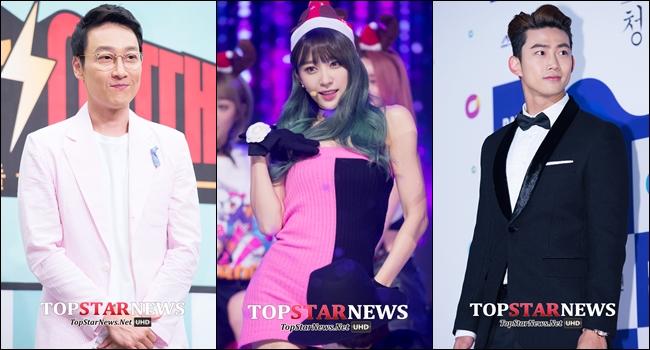 ♥ KBS 歌謠大慶典  ◆ 主持人:李輝宰、玉澤演、哈妮 ◆ 播出時間:12 月 30 日 7:30PM(韓國時間)