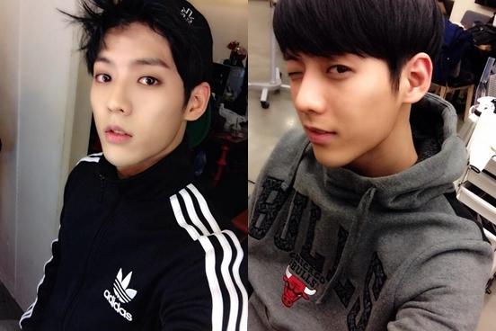 其實BTOB另一位成員旼赫的wink也不錯啊!