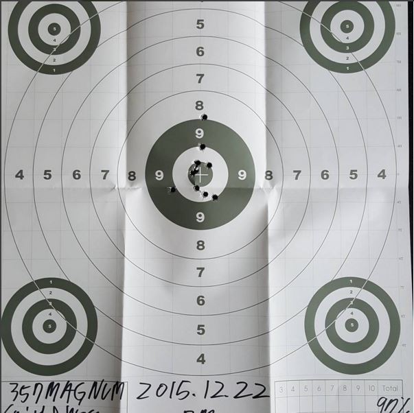射擊分數還是97分呢,真的好棒呀!