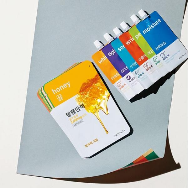 # ARITAUM-Pouch Pack系列晚安面膜 「剛開始覺得包裝好可愛,還以為是喝的呢!每一種幾乎都試過,敷上都很舒服☆」