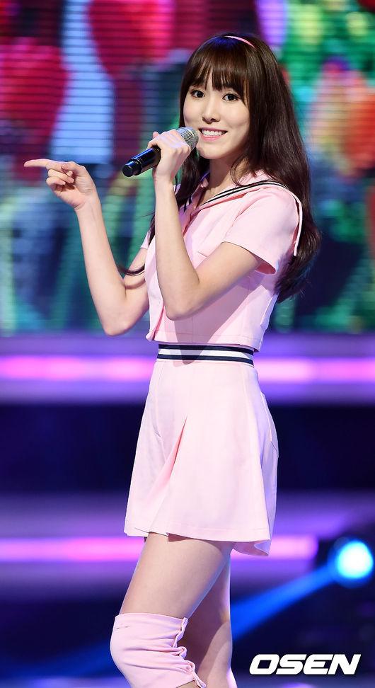 G-FRIEND的主唱Yuju也因為音樂節目,即使是新人也快的打出名號