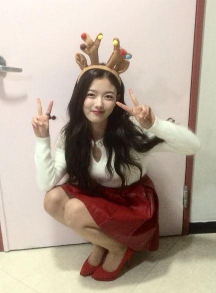 ★金裕貞 接著就是和Red Velvet的Joy很像的童星金裕貞!四歲就出道的她,現在已經長這麼大還這麼漂亮♥