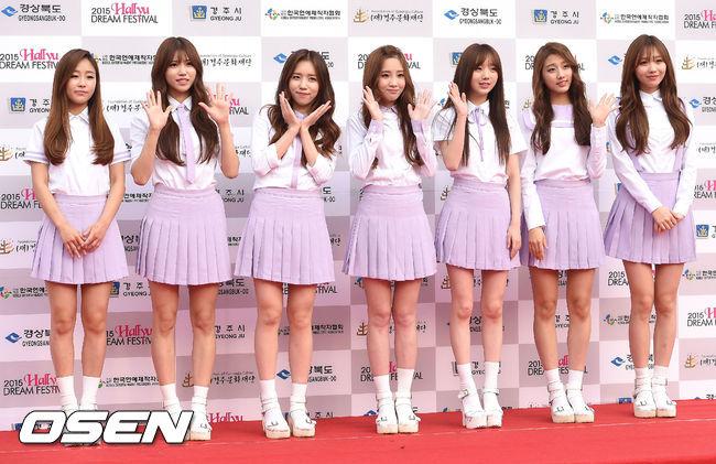 第一位就是甜美可愛的 Lovelyz 成員!