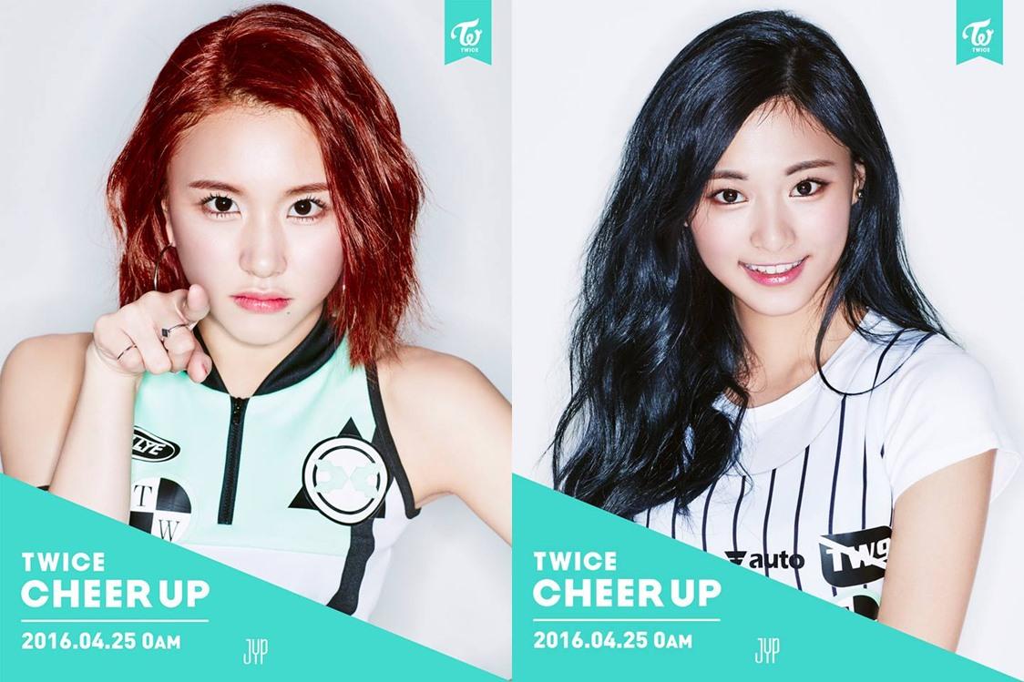 剩下的兩個名額韓國網友選了TWICE的彩瑛和子瑜!雖然是99年生,但外貌已經超越了99年生該有的顏值啊(笑)真的太美了~~