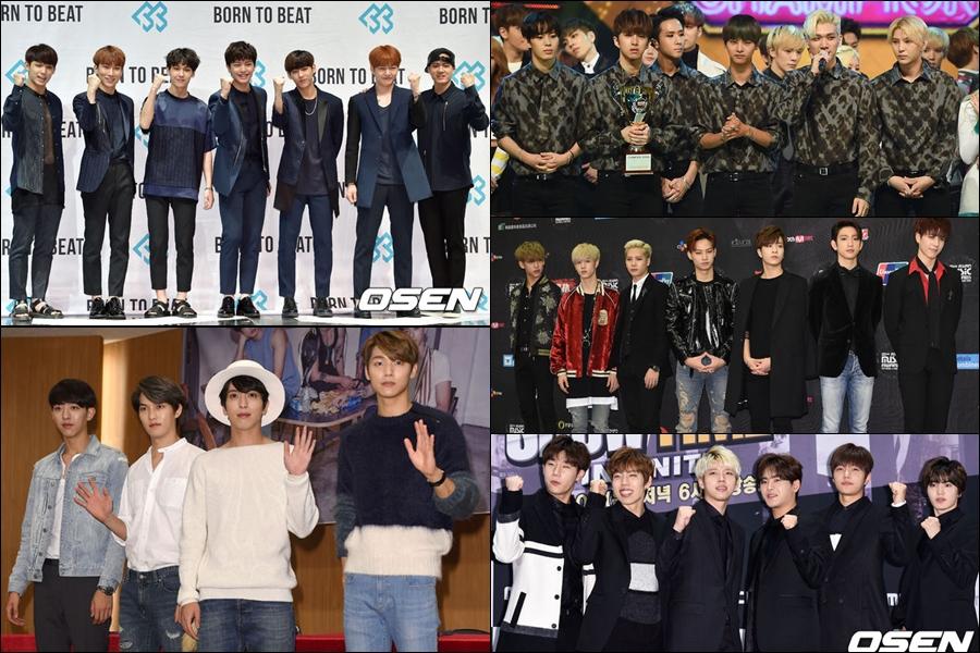 人氣男團 INFINITE、GOT7、CNBLUE、BTOB 和 VIXX 也會參加典禮。