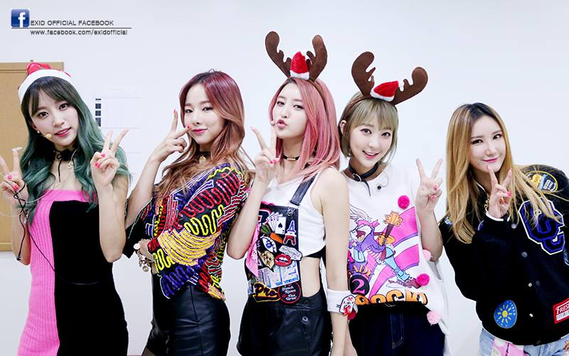 大勢女團 EXID 也不會缺席,總共會有 27 組藝人出席《SBS 歌謠大戰》。