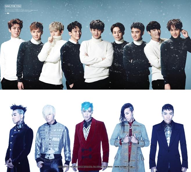 如果說到大獎的競爭者,直覺反應一定都是「EXO」和「BIGBANG」,兩團在今年都有很亮眼的表現,不知道最終是誰會拿到什麼獎呢?