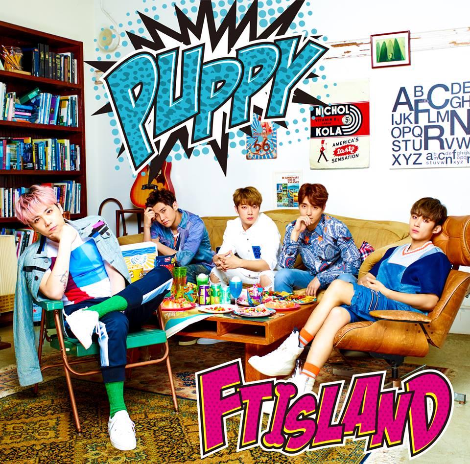 FTISLAND 8月份再次推出數位單曲〈PUPPY〉,洪基在11月還推出首張迷你專輯《FM302》,今年看起來真的很忙碌呢~