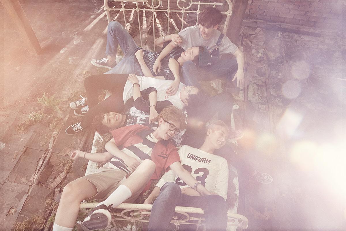 Day 6 JYP娛樂今年分別推出一女團一男團,男團就是走樂團路線的Day 6。一聽就中毒的音樂以及清新的風格,以及各個團員堅強的歌唱實力!要不是樂團獎太激烈,不然擺在樂團獎裡面廝殺也是不為過啊~