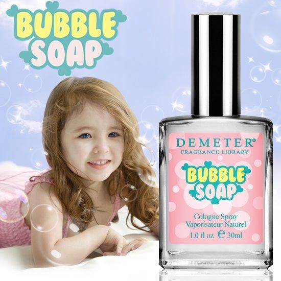 # DETEMER-Bubble Soap 光看包裝就覺得好可愛,喜歡香水的人對這個品牌應該很熟悉,香味種類也是很多~帶點甜味的皂香味,讓女生變得好可愛喔♥