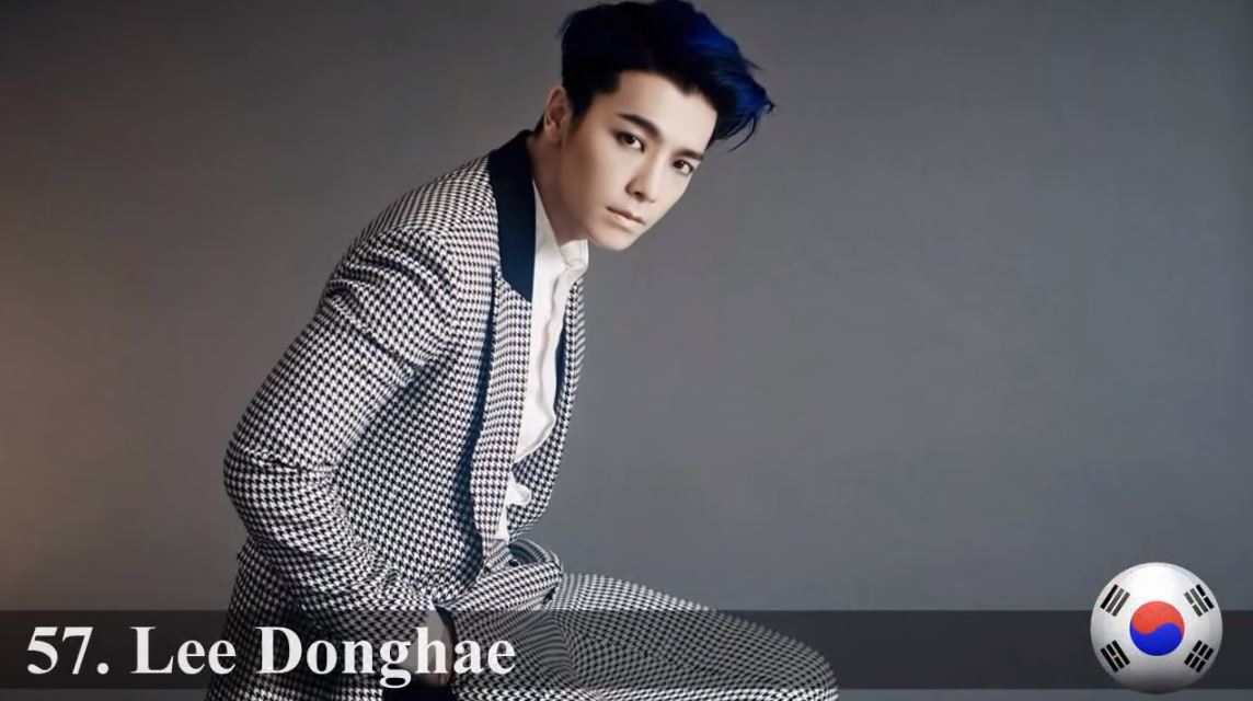 ♥ No.57 :: Super Junior 東海  目前正在服兵役的東海,精緻的臉龐真的男女老少都通吃啊!