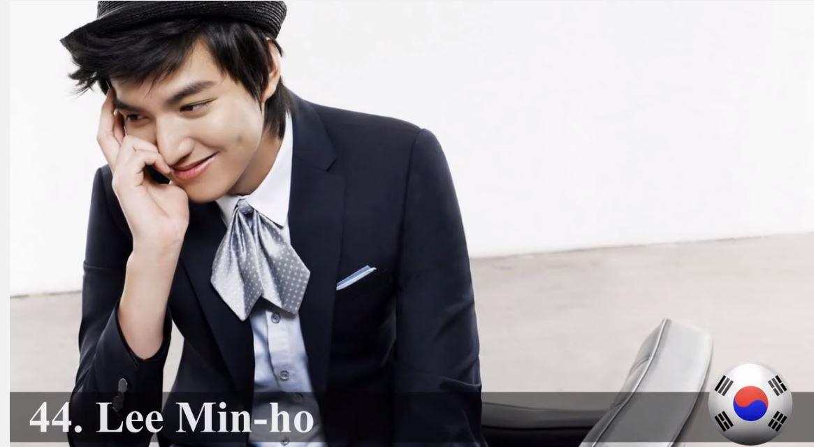 ♥ No.44 :: 李敏鎬  被韓國網友稱為「高富帥男主角專業戶」的他,真的舉手投足都有種貴公子的氣息。