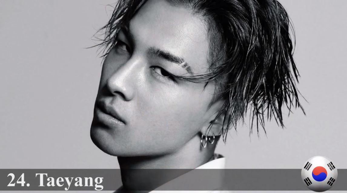 ♥ No.24 :: BIGBANG 太陽  剛剛小編忘記放上來了,第 24 名就是 BIGBANG 的太陽啦!