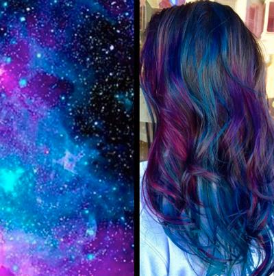 通過頭髮看星空,這是一種什麼樣的視覺奇觀呢!