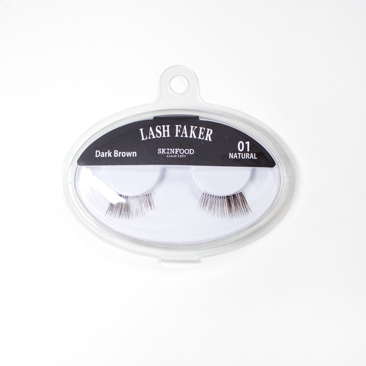 ▶ LASH FAKER假睫毛 #1 Dark Brown 13mm (價格:KRW 3,000)