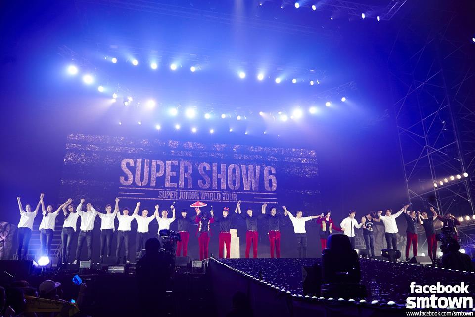 公演藝人:SUPER JUNIOR 名次排名:第26名 觀眾人數:28.8萬人 公演場次:21場