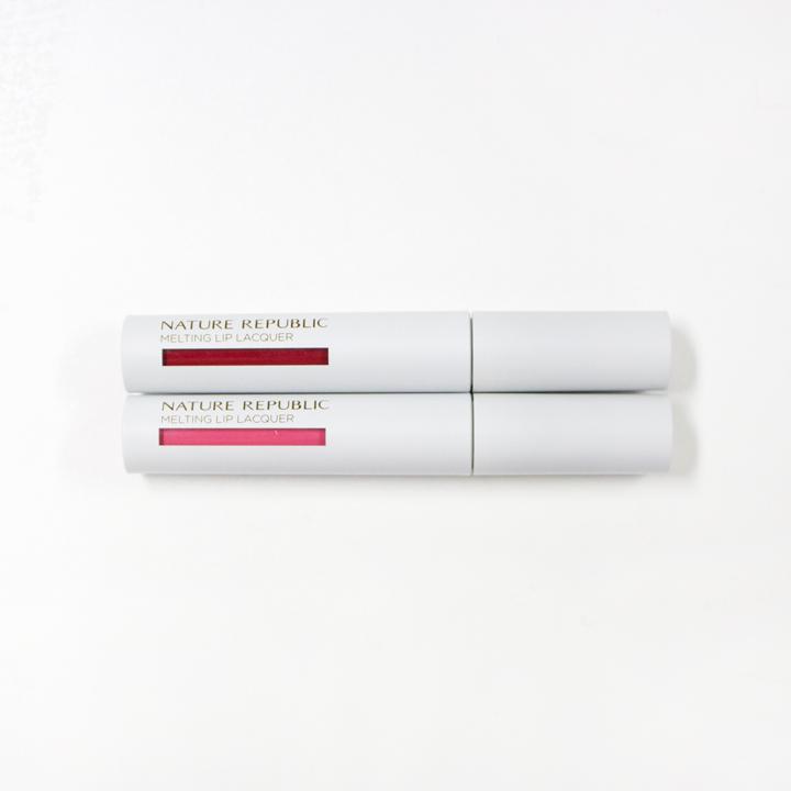 ▶ 普羅旺斯唇釉 #3 Vanilla Pink, #5 Blush Red (價格:KRW 12,000)