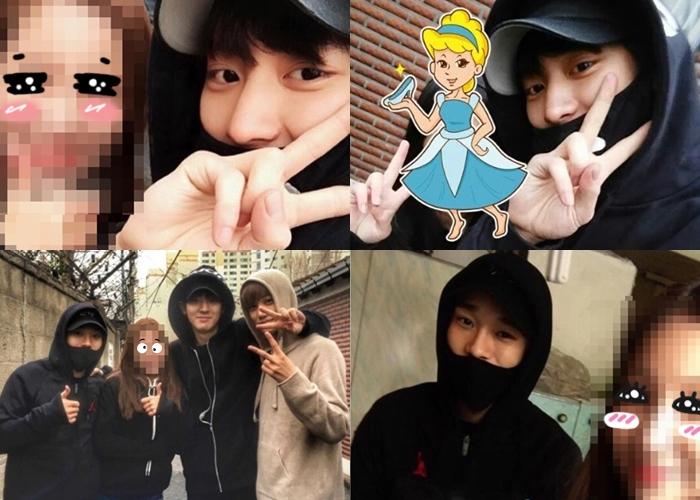 另外,EXO成員燦烈、KAI、CHEN也在本月15日也進行了送炭活動!
