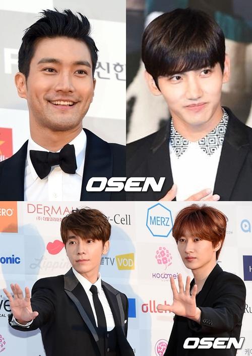 #5. 「暫時要去守衛國家」偶像團體成員集體當兵去 今年當兵的偶像特別多,首先是JYJ在中在3/31入伍,有天則在8/27,東方神起允浩在7/21,在上個月19號昌珉和Super Junior始源也入伍了~Super Junior今年入伍的還有銀赫和東海,厲旭和圭賢也預計在明年入伍,看來明年軍隊也會非常熱鬧呢~