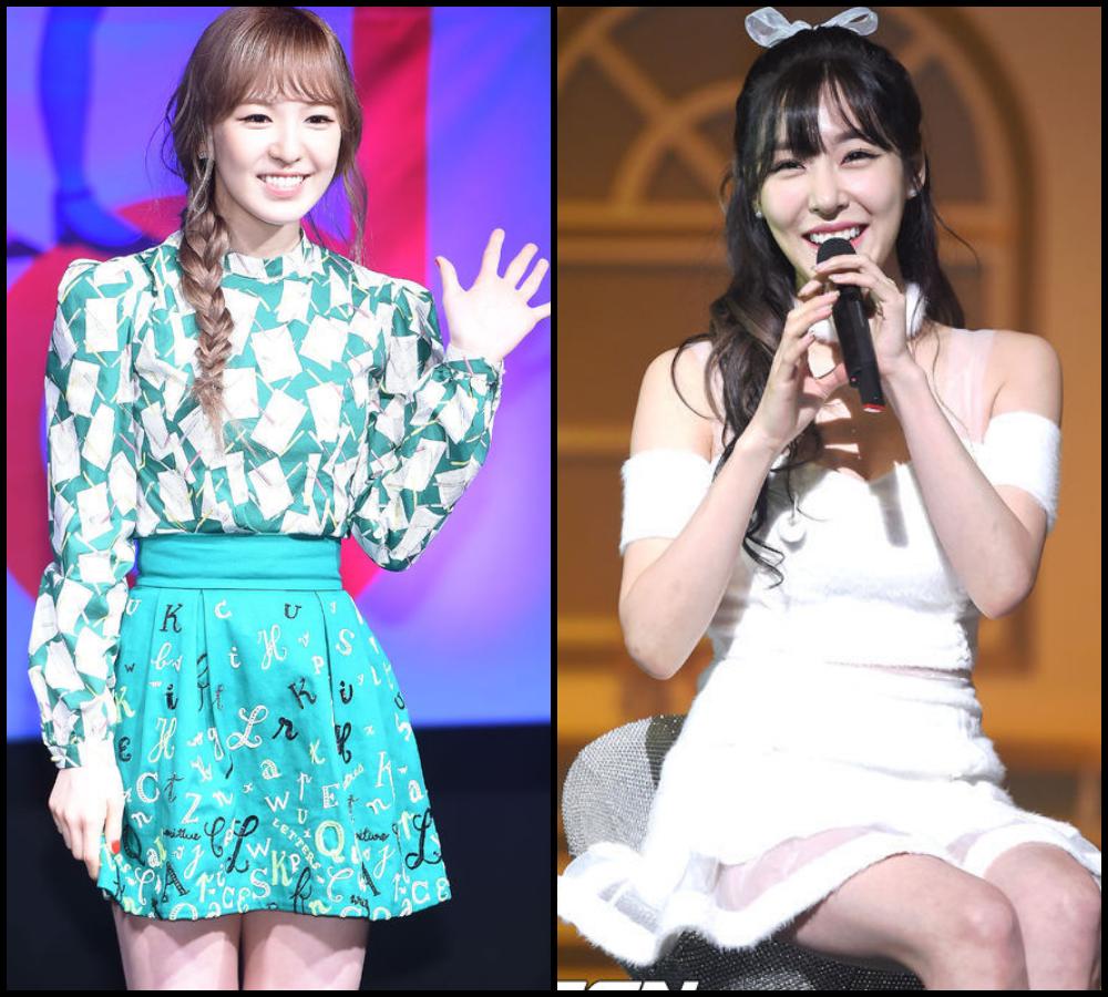 ♥ 甜美女孩的合作: 少女時代的蒂芬妮和 Red Velvet 的 Wendy 合唱了《Dear, Mom》。