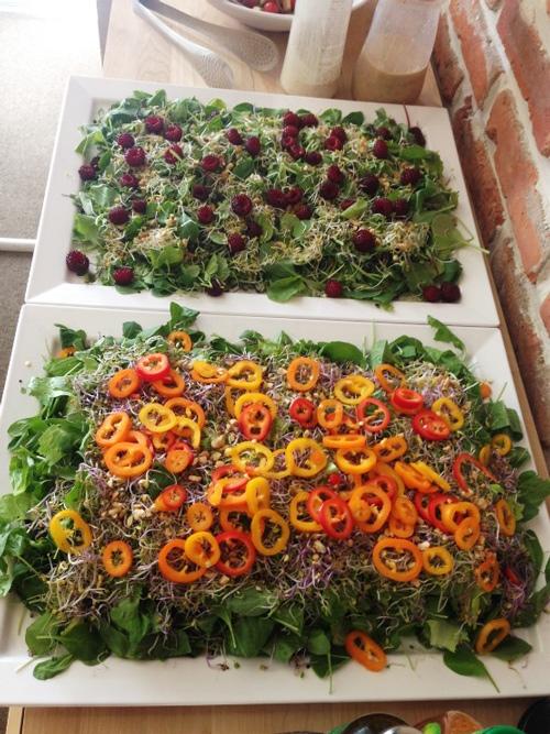 各種蔬菜沙拉