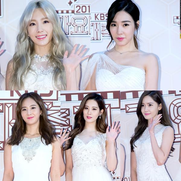 少女時代每個成員都漂亮的程度有如仙女下凡